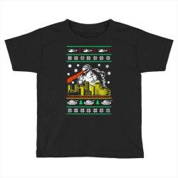 godzilla ugly christmas Toddler T-shirt | Artistshot