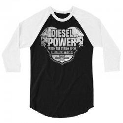 Diesel Power 3/4 Sleeve Shirt | Artistshot