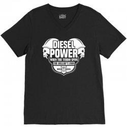 Diesel Power V-Neck Tee | Artistshot