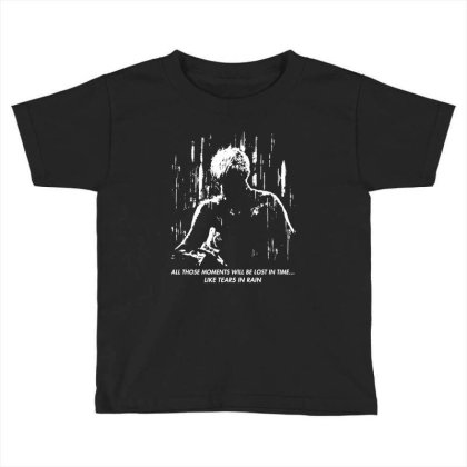 Runner Like Tears In Rain Toddler T-shirt Designed By Ande Ande Lumut