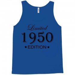 limited edition 1950 Tank Top | Artistshot