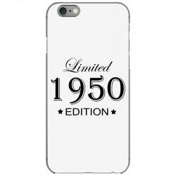 limited edition 1950 iPhone 6/6s Case | Artistshot