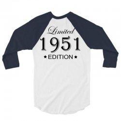 limited edition 1951 3/4 Sleeve Shirt | Artistshot