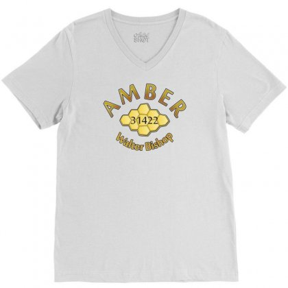 Amber V-neck Tee Designed By Karlangas