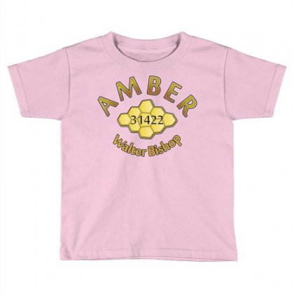 Amber Toddler T-shirt Designed By Karlangas