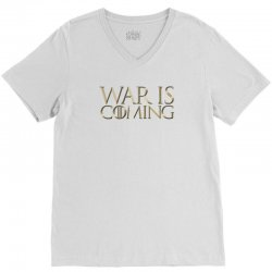 Dominion War is Coming V-Neck Tee | Artistshot