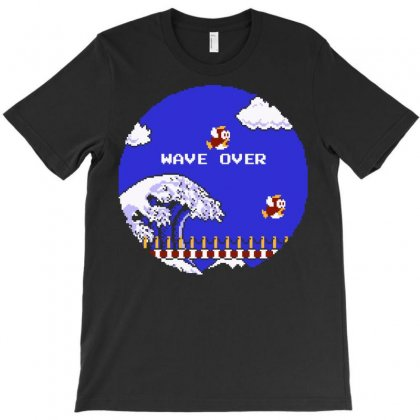 Wave Over T-shirt Designed By Karlangas
