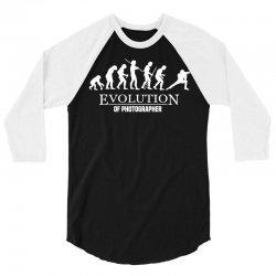 Evolution Of A Photographer 3/4 Sleeve Shirt   Artistshot