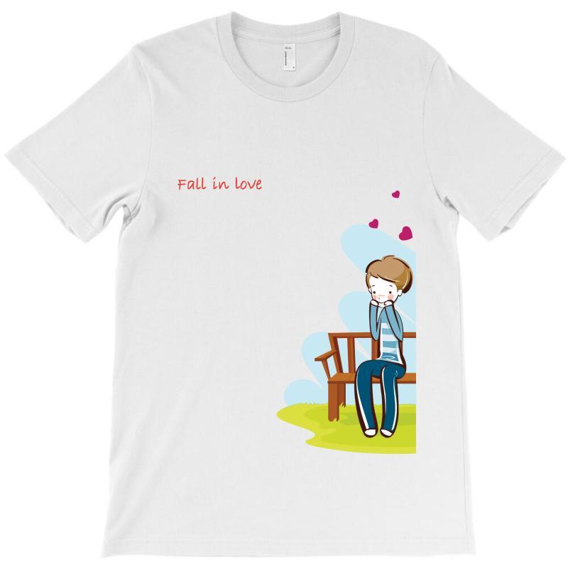 Fall In Love T-shirt | Artistshot