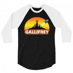 Gallifrey 3/4 Sleeve Shirt   Artistshot