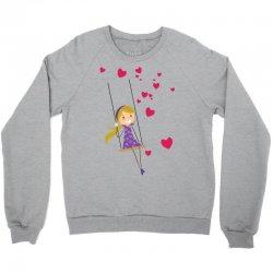 Girl Crewneck Sweatshirt   Artistshot