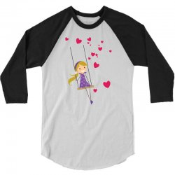 Girl 3/4 Sleeve Shirt   Artistshot
