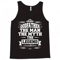 Godfather The Man The Myth The Legend Tank Top | Artistshot
