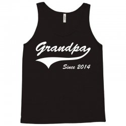 Grandpa since 2014 Tank Top | Artistshot