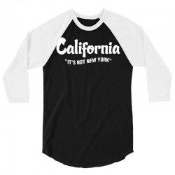 California It's Ok not to be Ok 3/4 Sleeve Shirt   Artistshot
