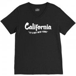 California It's Ok not to be Ok V-Neck Tee   Artistshot