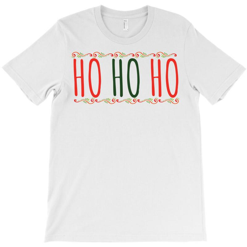 Ho Ho Ho Ugly Christmas Sweater T-shirt | Artistshot