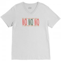 ho ho ho ugly christmas sweater V-Neck Tee | Artistshot