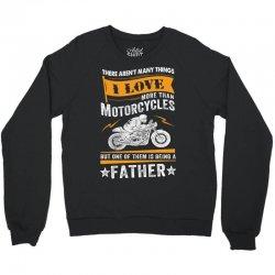 Motorcycles Father Crewneck Sweatshirt | Artistshot