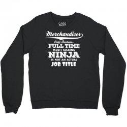 Merchandiser Only Because..... Crewneck Sweatshirt | Artistshot