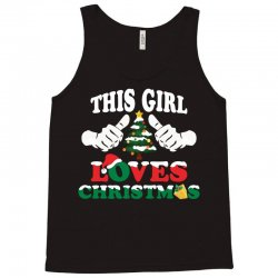 This Girl Loves Christmas Tank Top | Artistshot