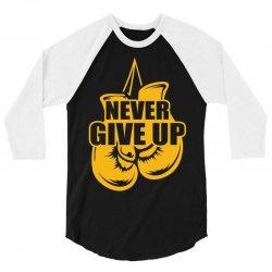 Never Give Up Appendix Cancer Awareness 3/4 Sleeve Shirt   Artistshot