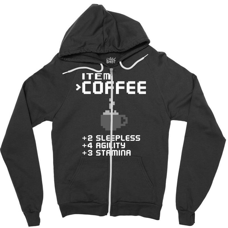 Facts Of Coffee Zipper Hoodie | Artistshot