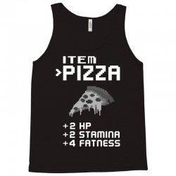 Facts Of Pizza Tank Top   Artistshot