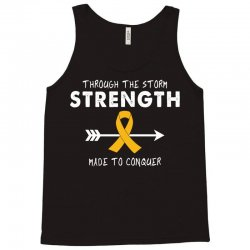 Through The Storm Strength Made To Conquer Tank Top | Artistshot
