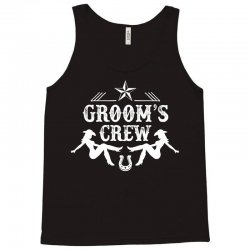 Old West Bachelor Party - Groom's Crew Version Tank Top | Artistshot