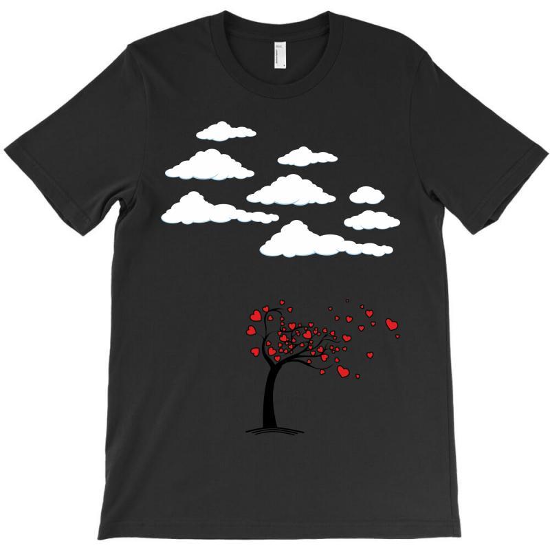 Heart Tree T-shirt   Artistshot