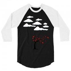 Heart Tree 3/4 Sleeve Shirt   Artistshot
