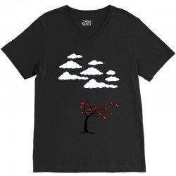 Heart Tree V-Neck Tee   Artistshot