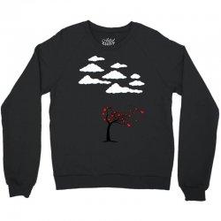 Heart Tree Crewneck Sweatshirt   Artistshot