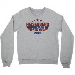 Heisenberg Pinkman 2016 Crewneck Sweatshirt   Artistshot