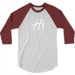 Hi 3/4 Sleeve Shirt | Artistshot