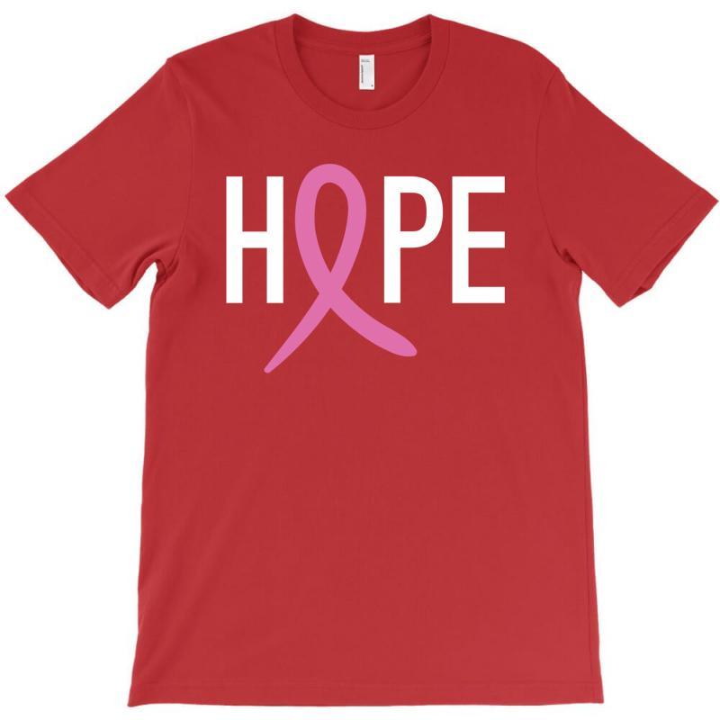 Hope. Breast Cancer Awareness T-shirt | Artistshot