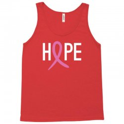 Hope. Breast Cancer Awareness Tank Top | Artistshot