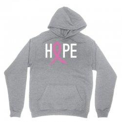 Hope. Breast Cancer Awareness Unisex Hoodie | Artistshot