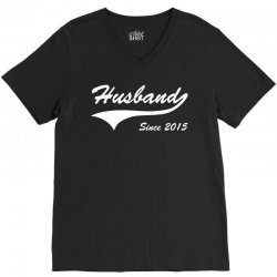 Husband Since 2015 V-Neck Tee | Artistshot