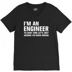 I Am An Engineer... V-Neck Tee | Artistshot
