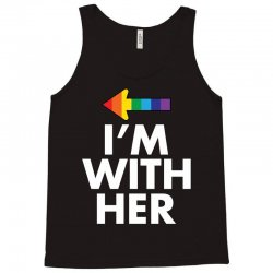 I Am With Her Tank Top | Artistshot