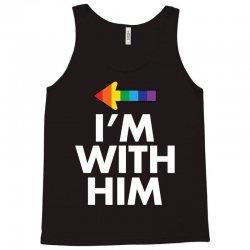 I Am With Him Tank Top | Artistshot
