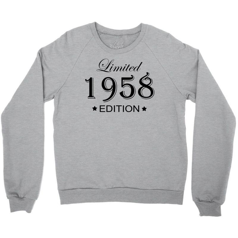 Limited Edition 1958 Crewneck Sweatshirt | Artistshot