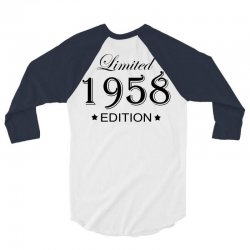 limited edition 1958 3/4 Sleeve Shirt | Artistshot
