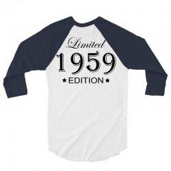 limited edition 1959 3/4 Sleeve Shirt | Artistshot