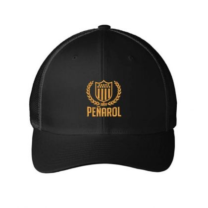Club Atletico Penarol Embroidered Hat Embroidered Mesh Cap Designed By Madhatter