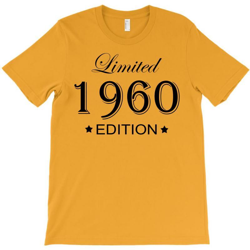 Limited Edition 1960 T-shirt | Artistshot