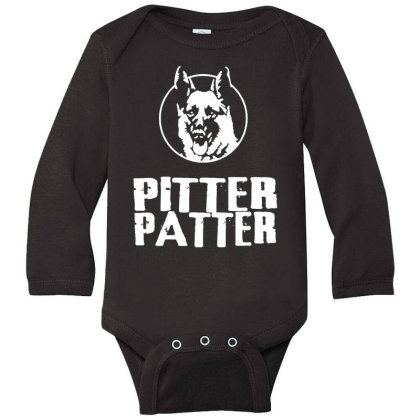 Letterkenny Pitter Patter Long Sleeve Baby Bodysuit Designed By Blqs Apparel