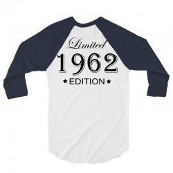 limited edition 1962 3/4 Sleeve Shirt | Artistshot